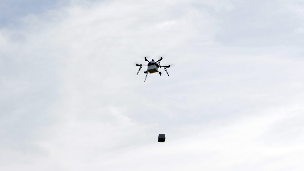 drone emergency supplies innovation
