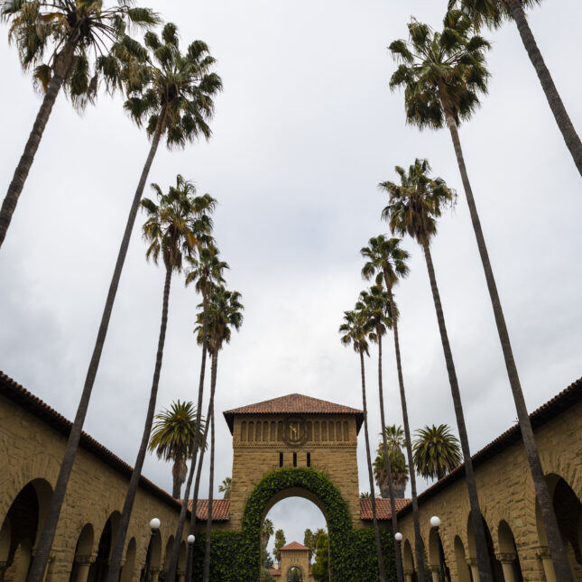 Stanford University main quad