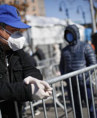 Virus Outbreak New York 2