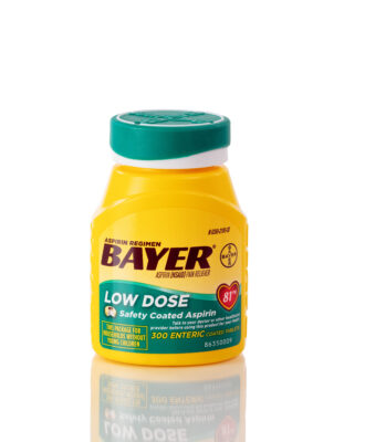 Bayer Aspirin bottle