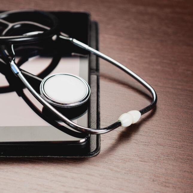 Stethoscope & ipad