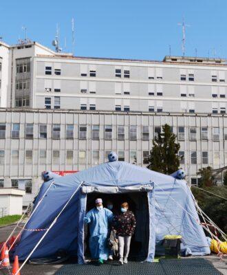 Cremona hospital triage