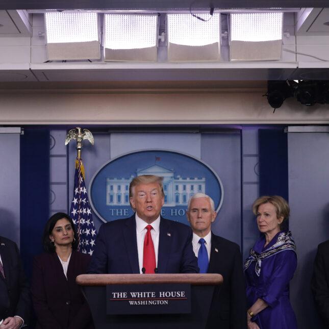 D Trump presser - 3/18
