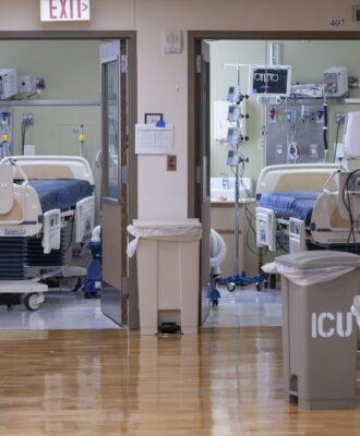 ICU beds CA
