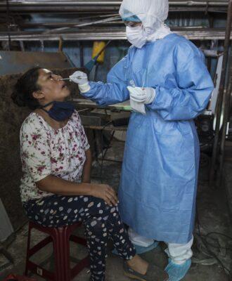Peru coronavirus test epidemic