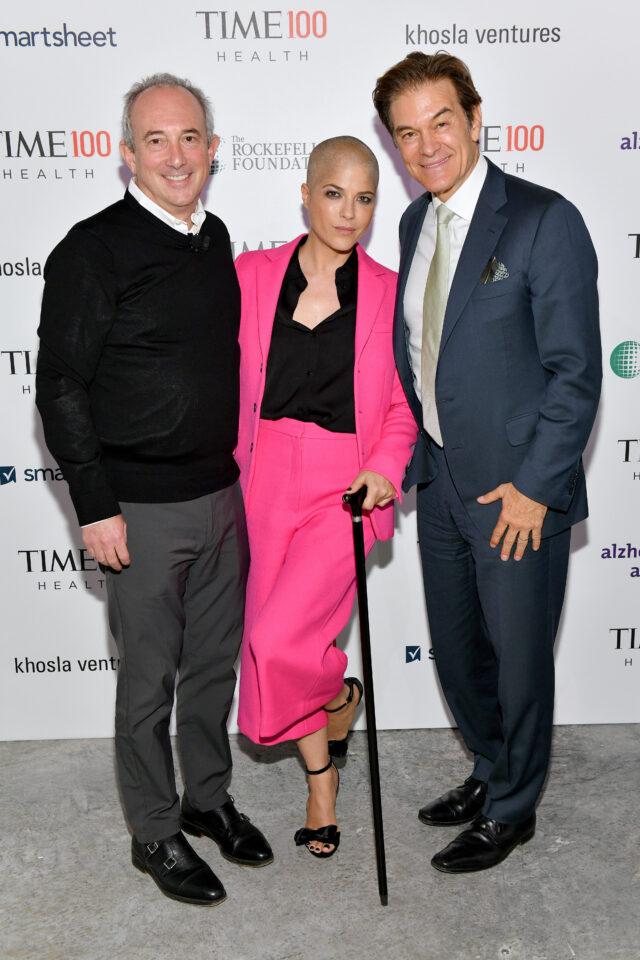 Dr. David Agus, Selma Blair, & Dr. Mehmet Oz