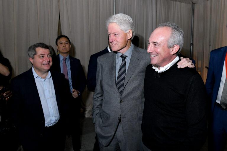 Bill Clinton and Dr. David Agus