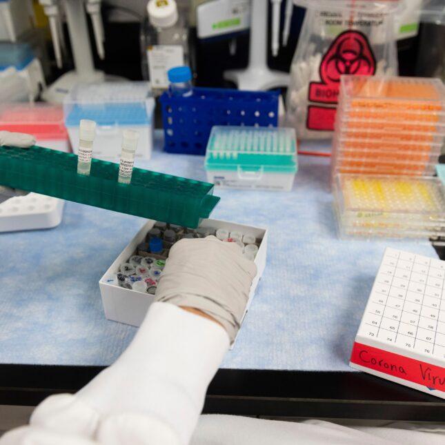 Novavax labs vaccine