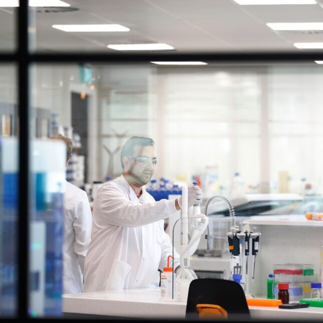 Exscientia at Oxford Science Park biotech century