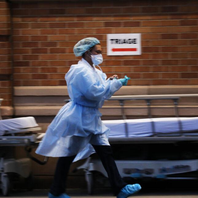 triage med staff public health