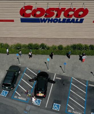 social distancing Costco