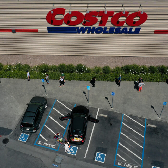 social distancing Costco