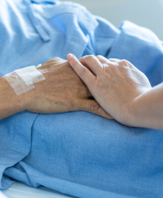 palliative care hands
