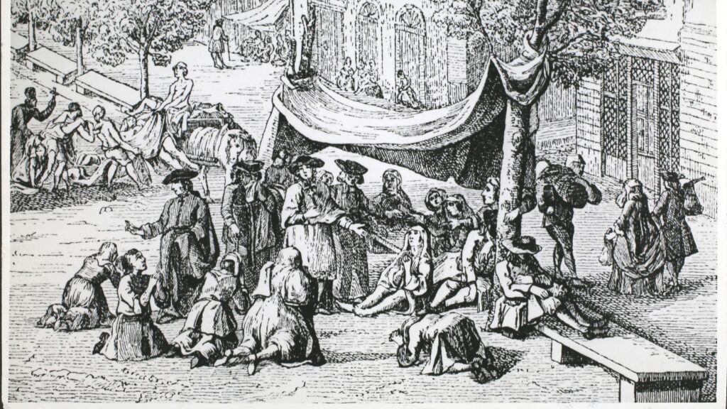 When bubonic plague hit France in 1720, officials dithered ...