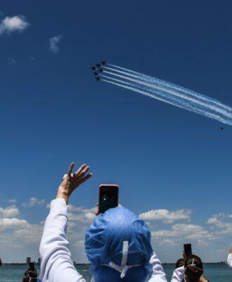 US Navy Blue Angels heroes