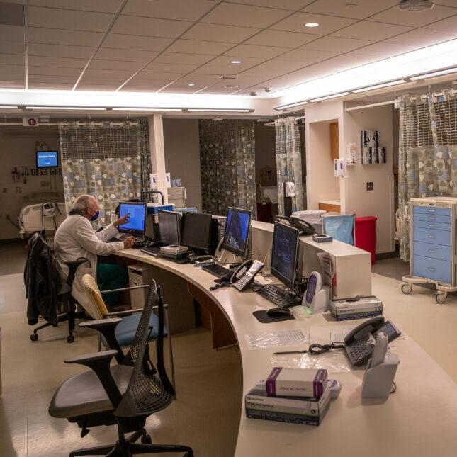 Empty ICU