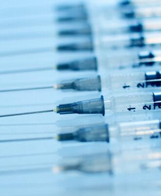 bluish syringes health impact fund
