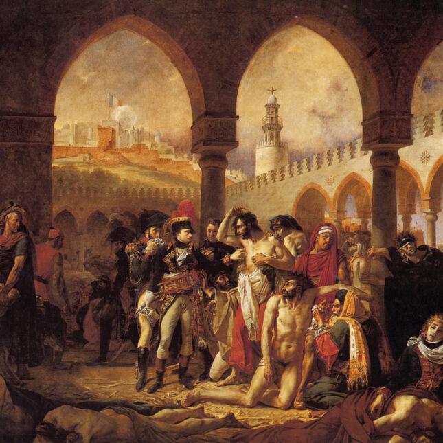 Napoleon Bonaparte Visiting the Plague-Stricken in Jaffa