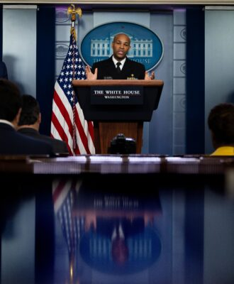 Jerome Adams briefing