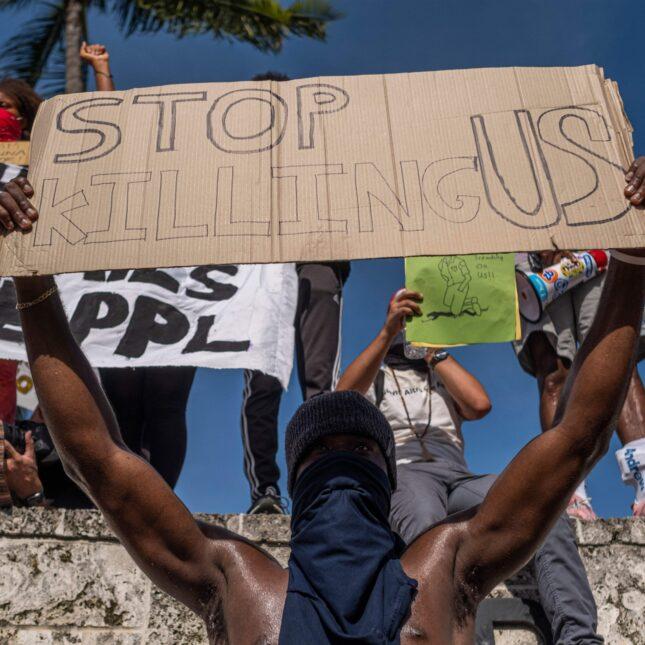 Miami protest 5/31 racism