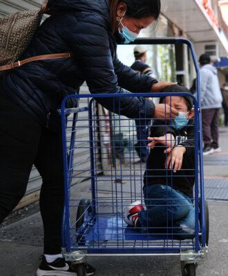 cart kid