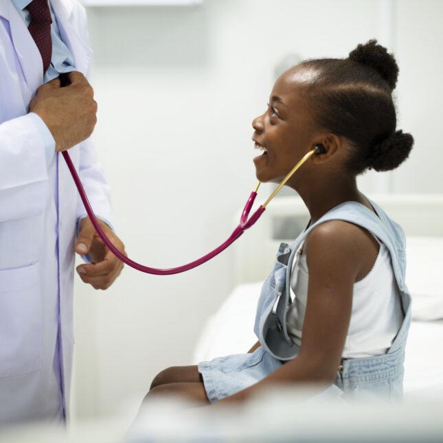 pediatrician & patient telehealth