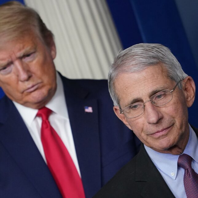 Trump threatens to fire Fauci amid rift with disease expert