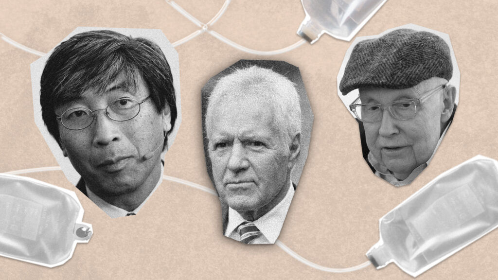 STAT Plus: Harry Reid and Alex Trebek tried Patrick Soon-Shiong's experimental cancer therapy. Can their results be duplicated in a clinical trial?