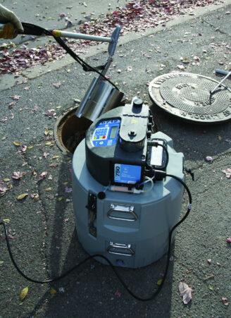 sewer wastewater sampling