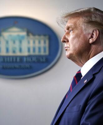 Donald Trump stare