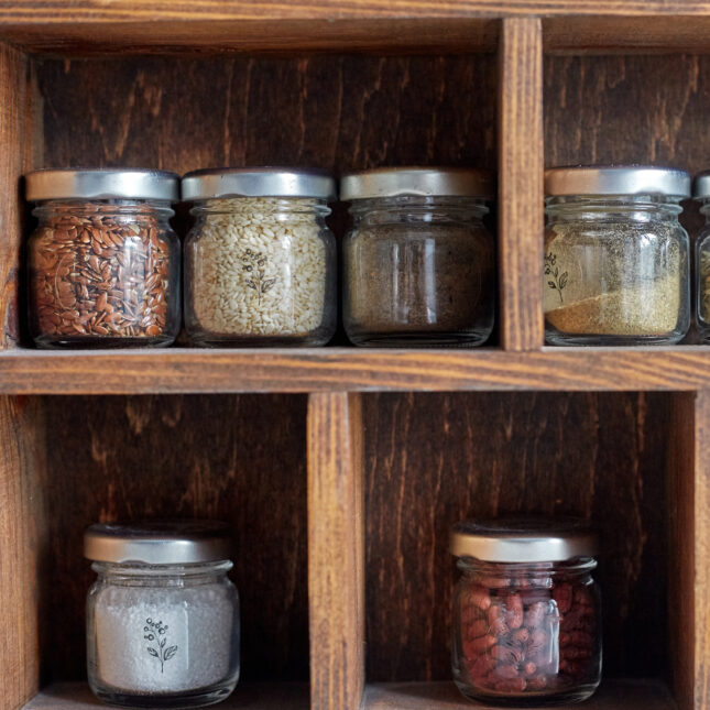 Spice cabinet smell