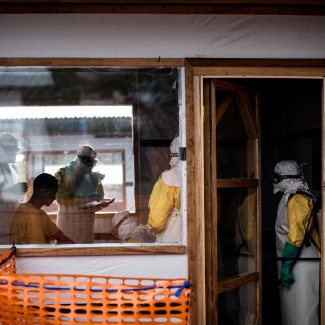 Health workers_DRC_2018 Ebola