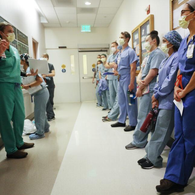 San Diego clinicians onboarding