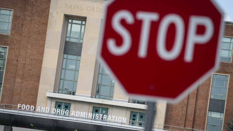 FDA stop sign