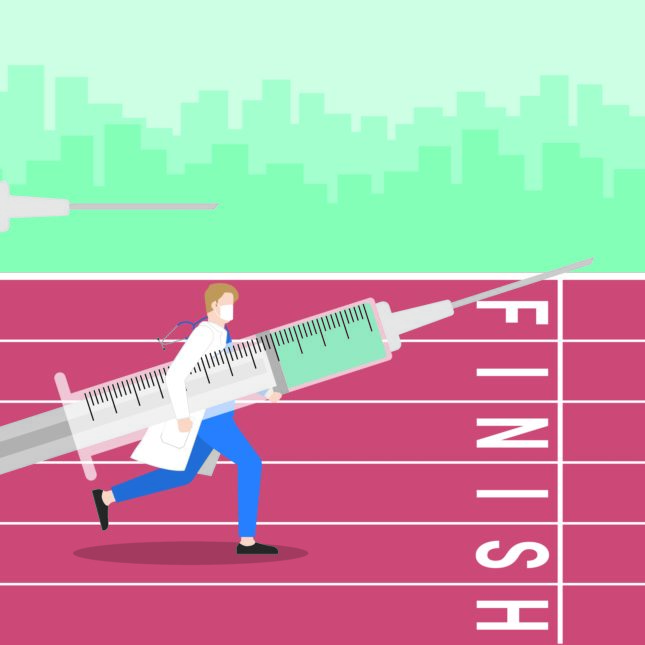 vaccine finish line innovation