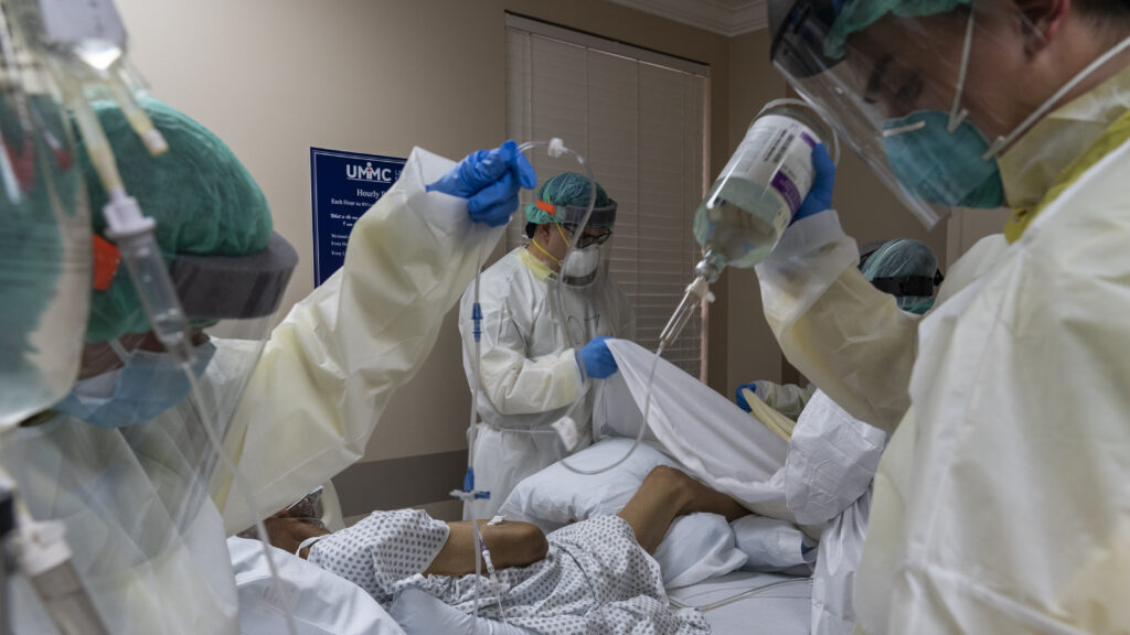 Texas Hospital med staff