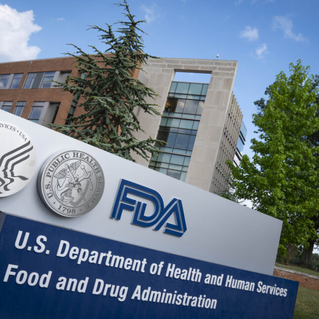 Food And Drug Administration Headquarters transparency
