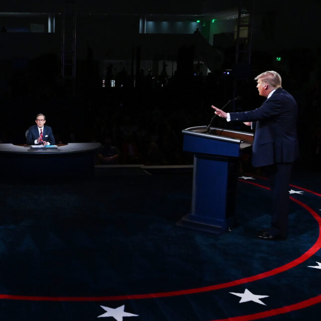First Presidential Debate Election 2020