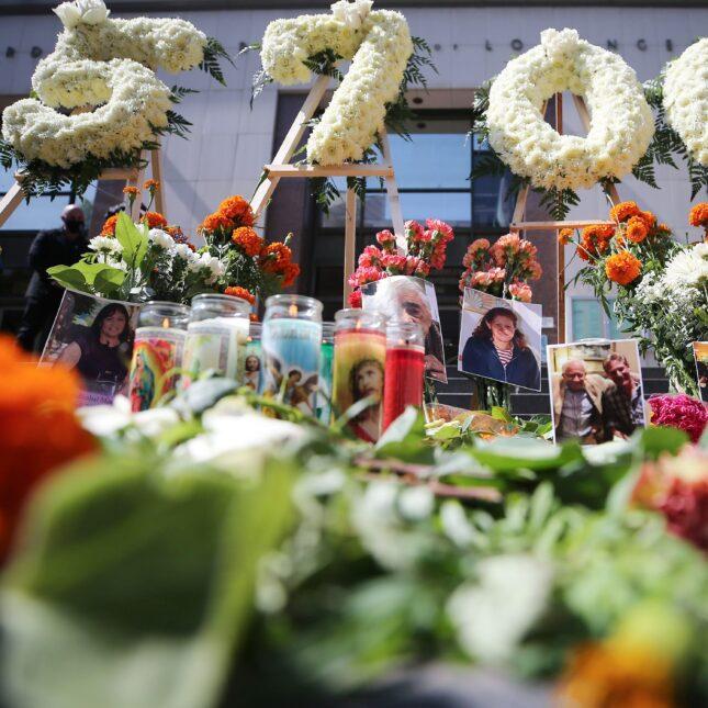 Covid victim memorial LA
