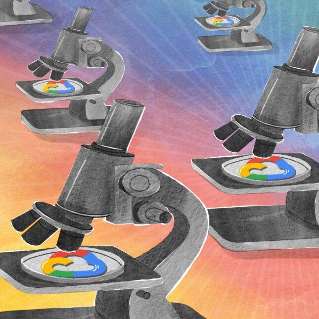 Google AI microscopes