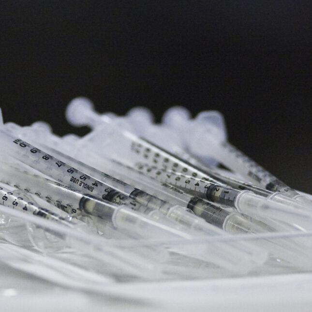 H1N1 syringes