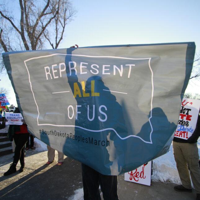 South Dakota Capitol protest
