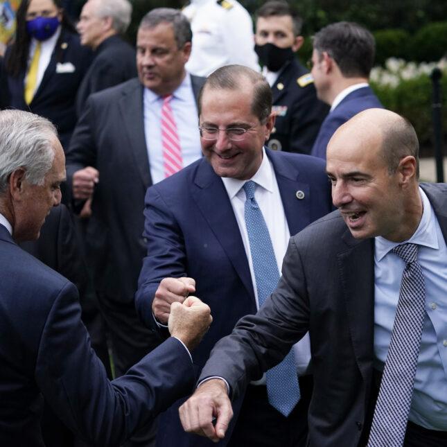 Azar, Christie, Scalia never event