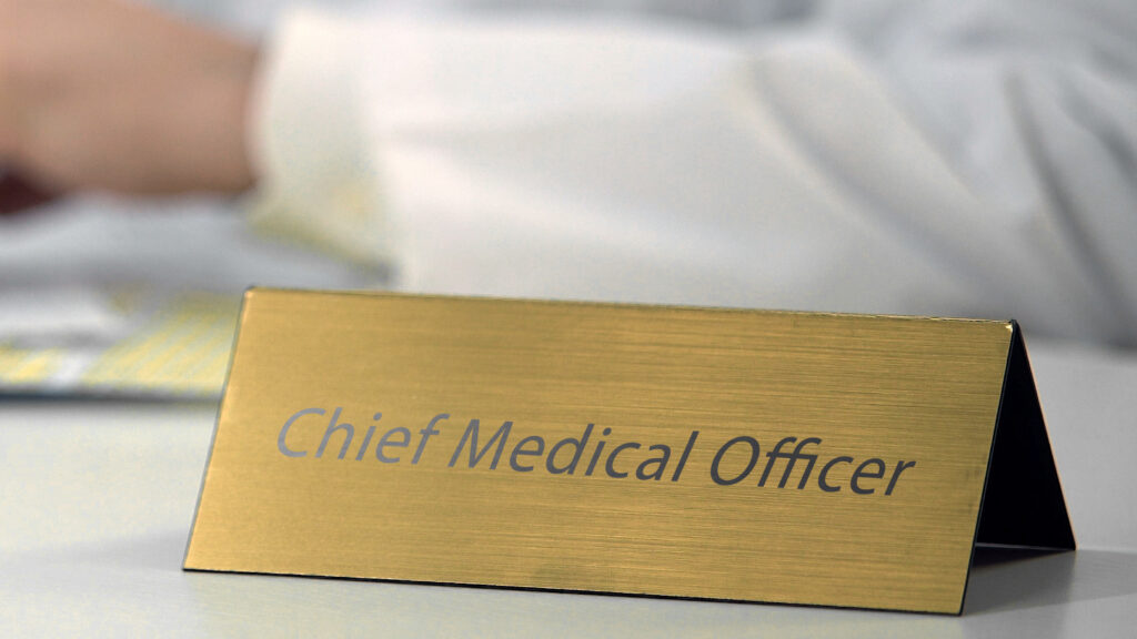 The ever-expanding role of the chief medical officer...