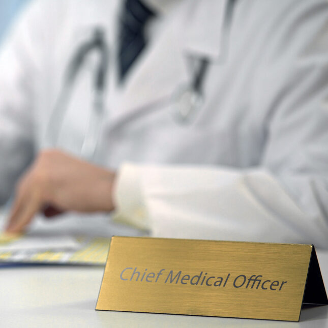 chief medical officer CMO