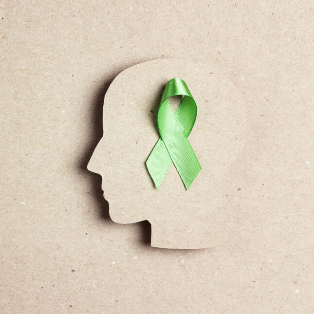 mental health green ribbon