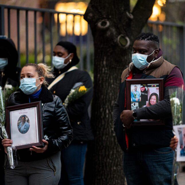 mourning c19 nurses