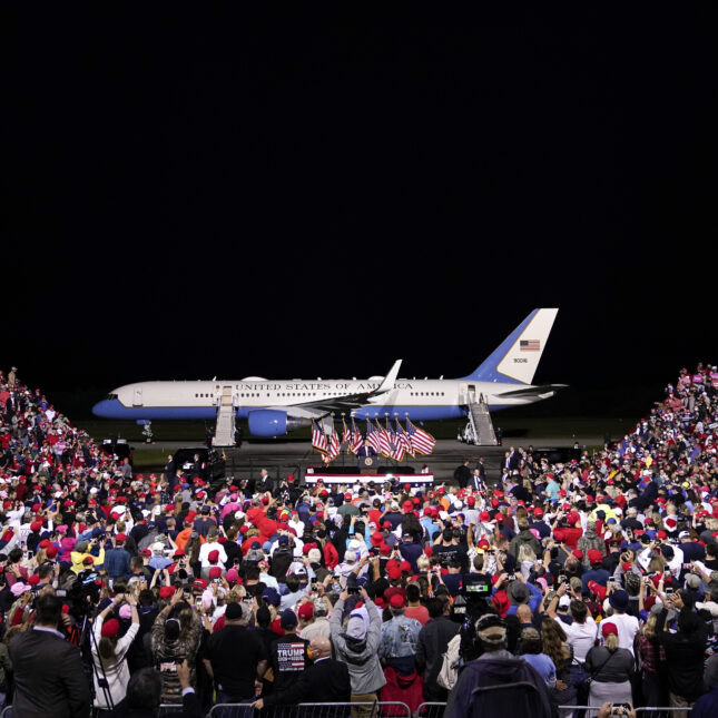 NEWPORT NEWS Trump rally