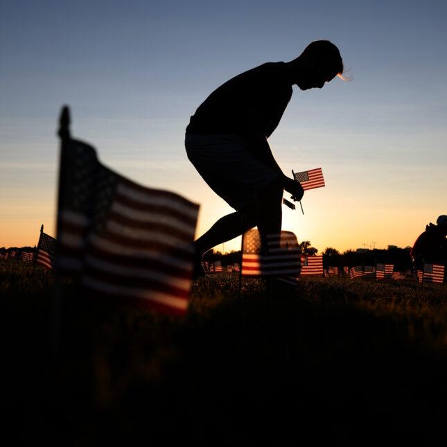 20,000 American Flags