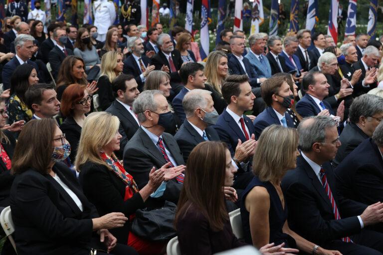 Supreme Court Nominee crowd